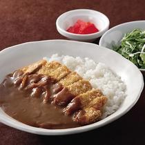 *レストランメニュー【昼】/カツカレー800円