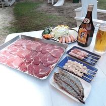*BBQ/沖縄ならではの食材を楽しめるBBQは3つのコースからお選びいただけます!