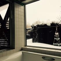 ・・・露天風呂付のお風呂・・・