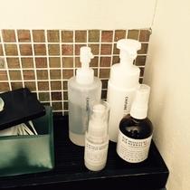 ・・・クレンジング・洗顔フォーム・化粧水・乳液・・・