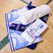 *客室アメニティ/浴衣、タオル等取り揃えています。