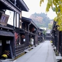 古い町並み(秋)