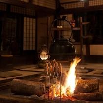 ◆母屋◆囲炉裏