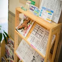 最寄りの飲食店MAPございます