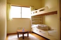 二段ベッド1つのお部屋(1~3名)