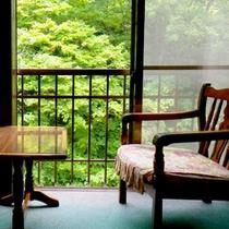 *【和室(一例)】自然を眺めてゆっくりと。