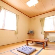 ■和室6畳一例/お部屋の向きによっては、二面採光のお部屋もあり柔らかな自然光が開放感を味わえます