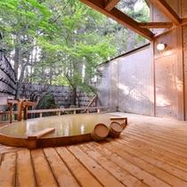 *露天風呂「大樹の湯」