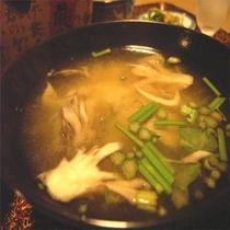 お夕食一例(川蟹つみれ)