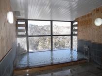 雪山を一望展望大浴場(24時間)
