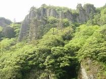 新緑が美しい立久恵峡