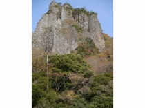 奇岩、柱石2