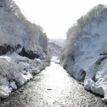 *瀬戸渓谷(冬)