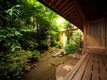 一階客室の中庭