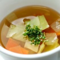 洋朝食スープ