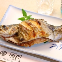 夕食 一品(焼き魚)