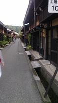 古い町並み 飛騨高山