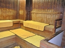大浴場内サウナ