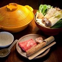 夕食 懐石料理イメージ/肉料理(冬)