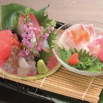 夕食 懐石料理イメージ/夏のお造り