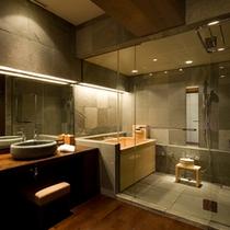■サイプレススイート浴室