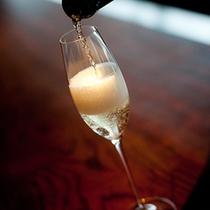 アニバーサリー_シャンパン