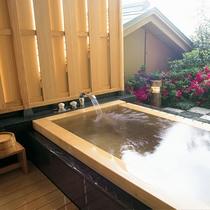 藤の棟・露天風呂付客室(2016年3月末迄)