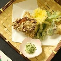 ☆料理_夕食_天ぷらとそば実揚げ (2)