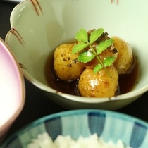 ☆料理_朝食_ころ芋の煮物