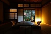 和室8〜10畳(庭園側)の一例