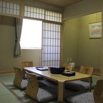 【最上階和室(例)】6帖+8帖の2間。湖東平野・琵琶湖の眺め◎