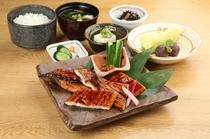 鰻の蒲焼き定食