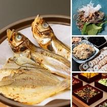 魚は卓上でお好みの焼き加減でお楽しみ下さい♪(ご用意出来ない日もございますので予めご了承ください)
