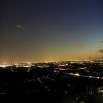 筑波山頂からの関東平野の夜景は絶景です!