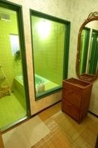 浴室(グリーン) ご家族向けのお風呂