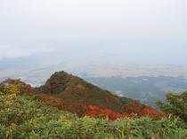 磐梯山紅葉