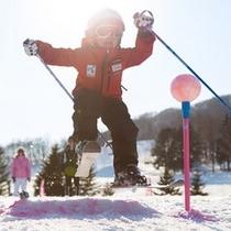【スキー場】体いっぱいで楽しい!!