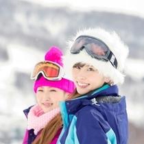 【スキー場】ルスツで笑顔