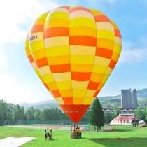 【アクティビティ体験】熱気球係留フライト体験