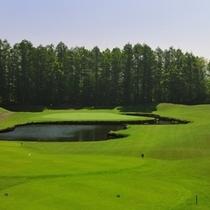 【ゴルフ】いずみかわコース6番ホール