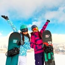 【スキー場】女の子だって楽しい!!