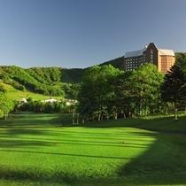 【ゴルフ】タワーコース9番ホール