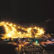 【スキー場】ナイターゲレンデ