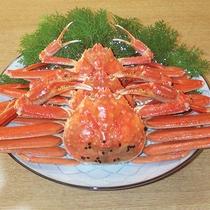 *【夕食一例】本ズワイガニ