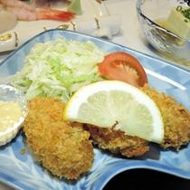 *【夕食一例/揚物】料理長が1品、1品、丁寧に仕上げました。