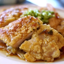「鶏の香味焼き定食」