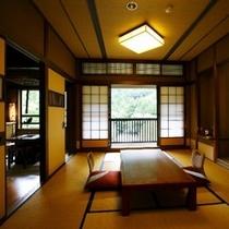 ■ 和室の一例 温泉宿ならではの趣ある空間です。