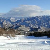 【ノルン水上スキー場】当館からはお車で約10分!冬はウィンタースポーツをお楽しみください。