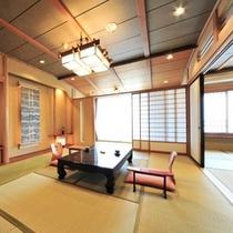【昇竜館10畳+6畳】家族・グループに最適♪広々とした2間続きのお部屋。