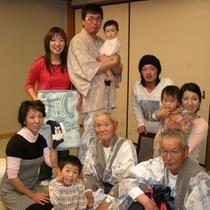 米寿で家族全員集合!